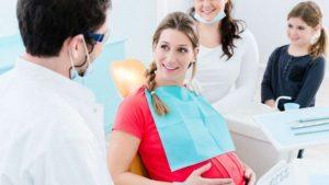 Имплантация зубов при беременности