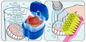 Read more about the article Как правильно чистить съемный зубной протез?